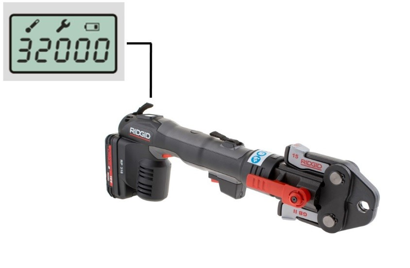 RIDGID荣耀推出新一代RP318电动液压管道压接工具