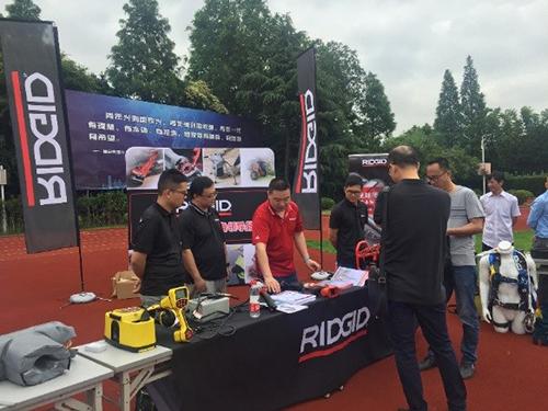 RIDGID工具助力上海房屋应急维修