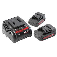 18V 高级锂离子电池和充电器